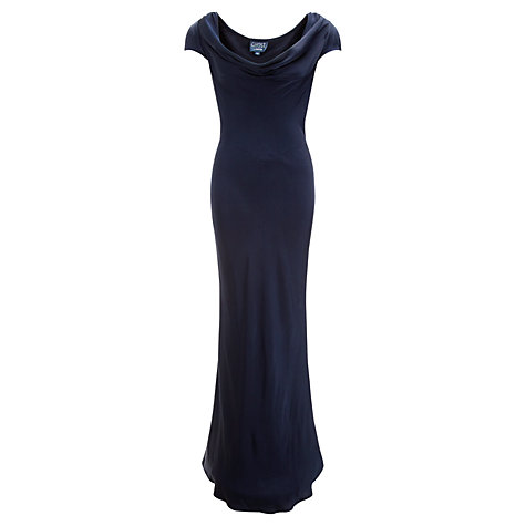 Buy Ghost Sylvia Dress, Navy Online at johnlewis.com