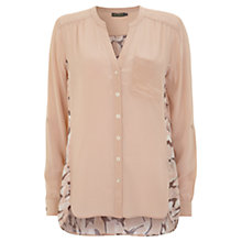 Buy Mint Velvet Lily Print Blouse, Multi Online at johnlewis.com