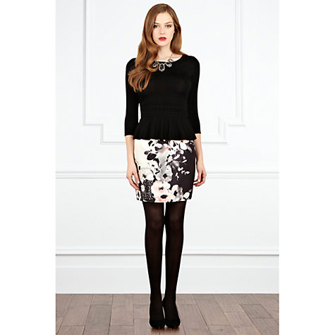 Buy Coast Alize Printed Skirt, Multi Online at johnlewis.com