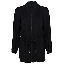 Buy French Connection Nix Nights Jacket, Black Online at johnlewis.com