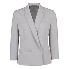 Buy French Connection Lara Jacket, Light Grey Online at johnlewis.com