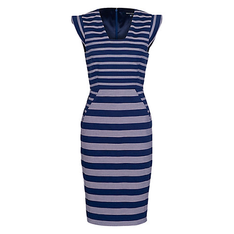 Buy French Connection Super Stripe Dress Online at johnlewis.com