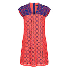 Buy French Connection Florence Beading Dress, Holiday Crush Online at johnlewis.com