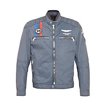 Buy Hackett London Aston Martin Racing Moto Jacket Online at johnlewis.com