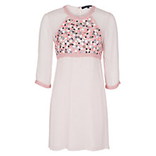 Buy French Connection Mosaic Tunic Dress, Powder Online at johnlewis.com