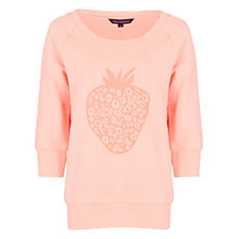 Buy French Connection Berry Jumper, Orange Online at johnlewis.com