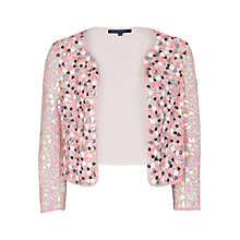 Buy French Connection Mosaic Jacket, Powder Online at johnlewis.com