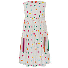 Buy Little Joule Camilla Dress, Pink Online at johnlewis.com