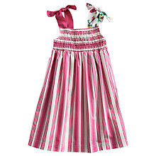 Buy Little Joule Maddie Dress, Pink Online at johnlewis.com