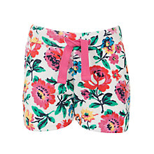 Buy Little Joule Girls' Annabel Towel Shorts, Multi Online at johnlewis.com
