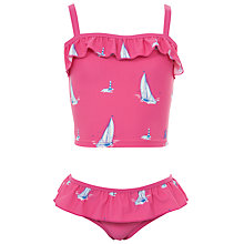 Buy Little Joule Rizzo Girls' Tankini, Pink Online at johnlewis.com