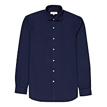 Buy Reiss Fran Twill Shirt, Indigo Online at johnlewis.com