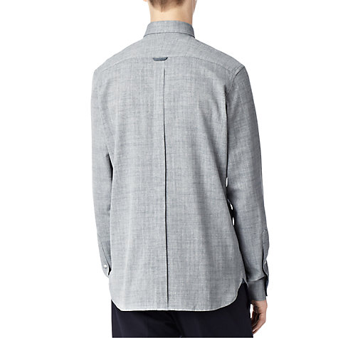 Buy Reiss Shogun Herringbone Shirt, Denim Online at johnlewis.com