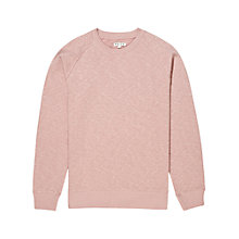 Buy Reiss Alpina Crew Neck Jumper, Rose Online at johnlewis.com