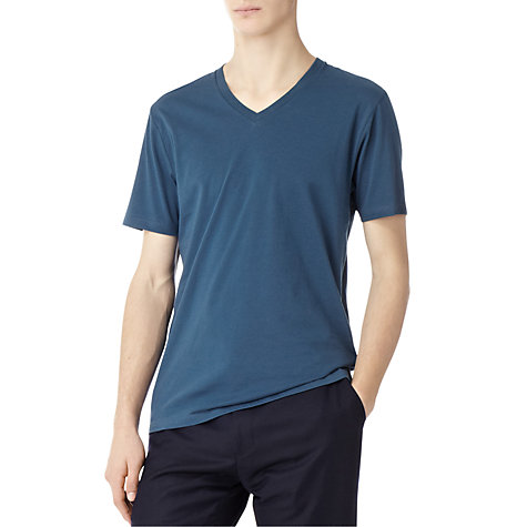 Buy Reiss Dayton V-Neck T-Shirt Online at johnlewis.com