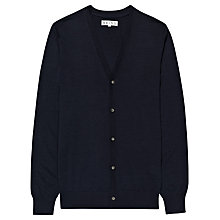 Buy Reiss Dennis Cardigan, Navy Online at johnlewis.com