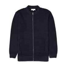 Buy Reiss Turner Baseball Jacket, Navy Online at johnlewis.com