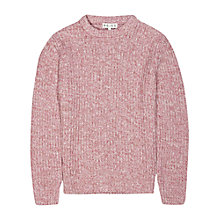 Buy Reiss Juke Crew Neck Jumper, Rose Online at johnlewis.com