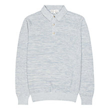 Buy Reiss Royce Stripe Polo Shirt, Blue Online at johnlewis.com