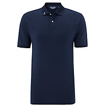 Buy Polo Golf by Ralph Lauren Pro-Fit Plain Polo Shirt, French Navy Online at johnlewis.com