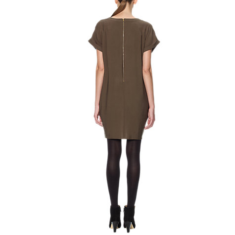 Buy Whistles Jessica Dress, Olive Online at johnlewis.com