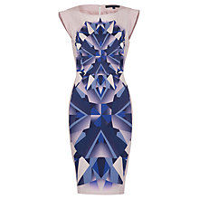 Buy French Connection Multi Diamond Dress, Skimming Stone Online at johnlewis.com