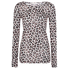 Buy French Connection Anna Animal Top, Multi Online at johnlewis.com