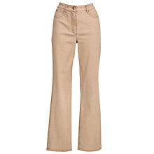 Buy Zaffiri Lucilla Straight Leg Jeans, Sand Online at johnlewis.com