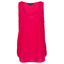 Buy French Connection Flash Vest, Fuchsia Online at johnlewis.com