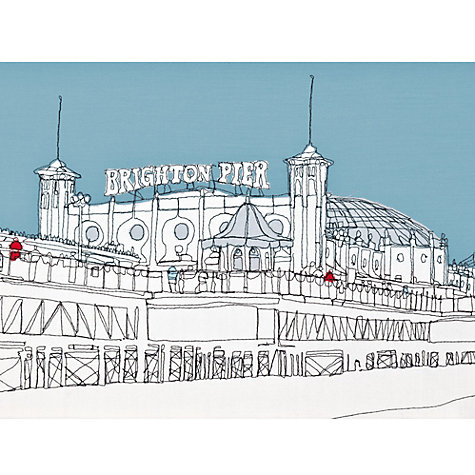 Buy Gillian Bates - Brighton Pier Online at johnlewis.com