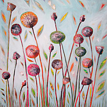 Buy Shyama Ruffell - Dandelion Blue Online at johnlewis.com