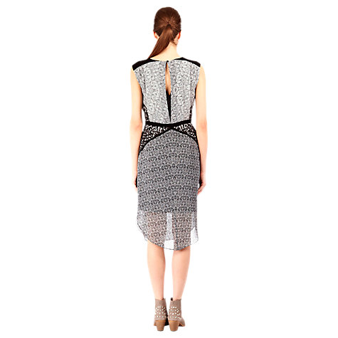 Buy Warehouse Neo Tribal Print Dress, Multi Online at johnlewis.com