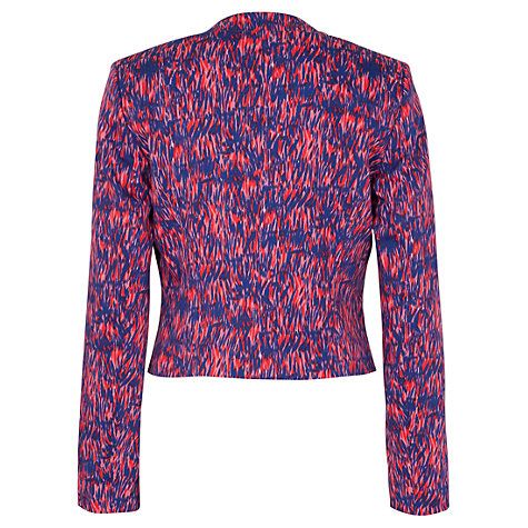 Buy French Connection Sundance Salute Jacket, Red/Cobalt/Nocturnal Online at johnlewis.com
