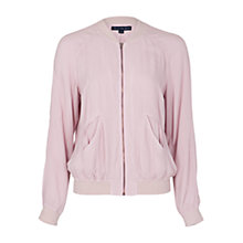 Buy French Connection Renoir Moments Zip Jacket, Natural Sheen Online at johnlewis.com