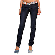 Buy Desigual Pintura Jeans, Denim Blue Online at johnlewis.com