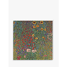 Buy Gustav Klimt - Farm Garden with Sunflowers Online at johnlewis.com