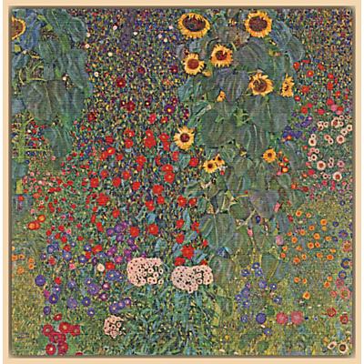 Gustav Klimt - Farm Garden with Sunflowers