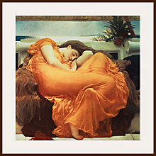 Buy Frederick Lord Leighton - Flaming June Online at johnlewis.com