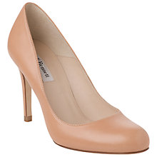 Buy L.K. Bennett Shilo Leather Stiletto Heel Court Shoes, Blush Online at johnlewis.com
