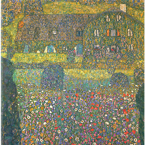 Buy Gustav Klimt - House in Attersee Online at johnlewis.com