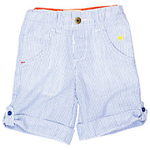 Buy Tootsa MacGinty Striped Seersucker Shorts, Blue/White Online at johnlewis.com