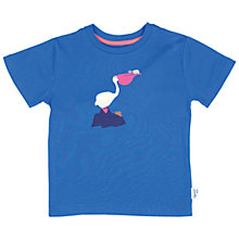 Buy Tootsa MacGinty Pelican T-Shirt, Blue Online at johnlewis.com