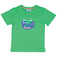 Buy Tootsa MacGinty Whale T-Shirt, Green Online at johnlewis.com