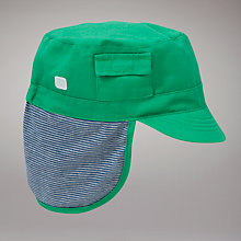 Buy John Lewis Kepi Hat, Green Online at johnlewis.com