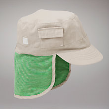 Buy John Lewis Kepi Hat, Stone Online at johnlewis.com