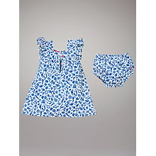 Buy Baby Joule Yasmin Summer Dress and Bloomers, Blue Ditsy Print Online at johnlewis.com