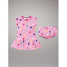 Buy Baby Joule Dotty Summer Dress, Bonbon Online at johnlewis.com