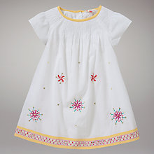 Buy John Lewis Embroidered Dress Online at johnlewis.com