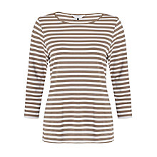 Buy COLLECTION by John Lewis Kelsey Top, Biscuit/Ivory Online at johnlewis.com