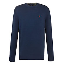 Buy Hackett London Crew Neck Cotton Jumper Online at johnlewis.com